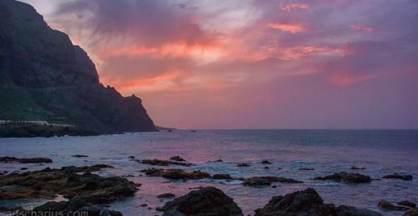 Sunset @ Buenavista del Norte - Tenerife - Nikon 1 V3 & 2,8/10mm