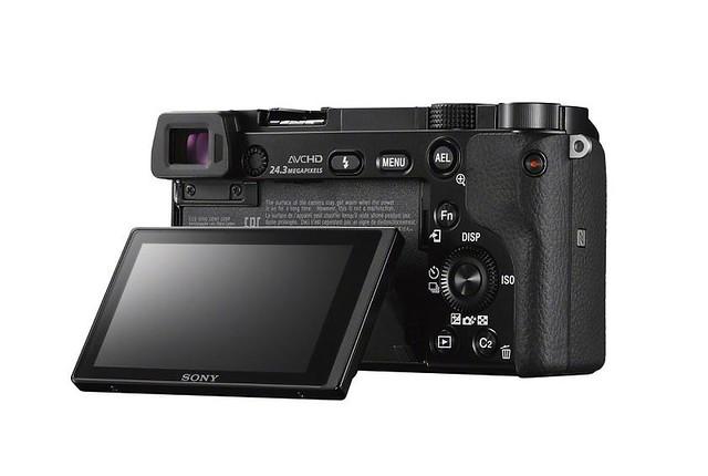 Sony a6000 pantalla