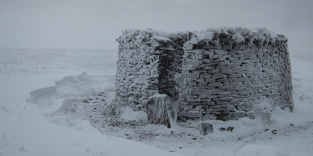 Stone Shelter Pendle Hill