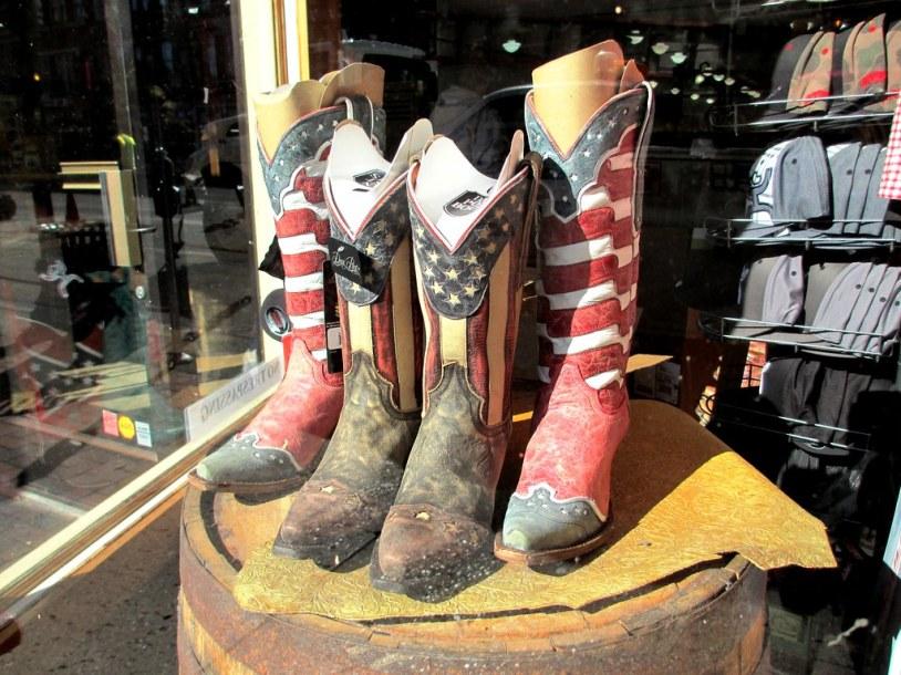 Boots Seen on Broadway, Nashville, Tenn., Nov. 2014