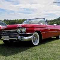 1959 Cadillac Series 62 Convertible at the 2014 Radnor Hunt Concours
