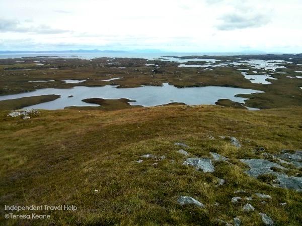 Lochs on Benbecula