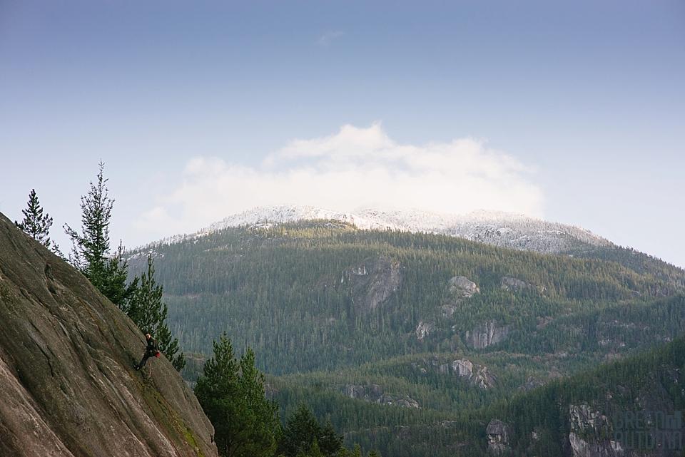 BC Coast Mountains Engagement Photography