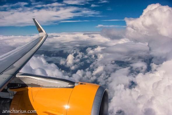 High Noon - Airbus A321 - Seat 11A - Nikon 1 V3 & 10-100mm non-PD