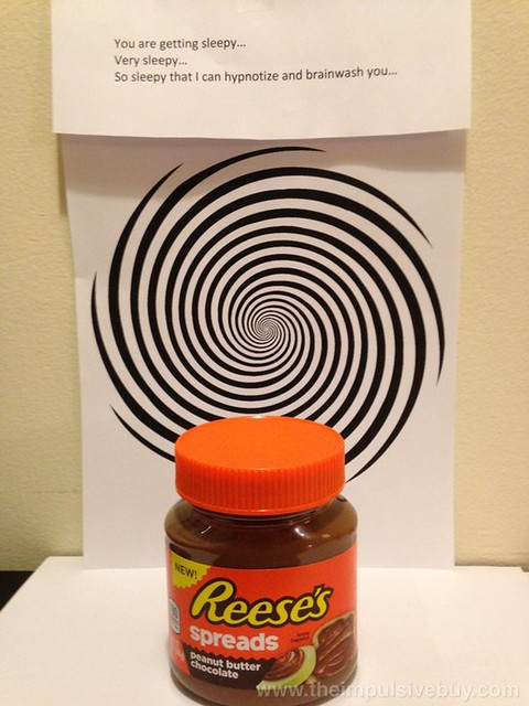 Reese's PB Choc Spread Reese's Spread is trying to hypnotize you