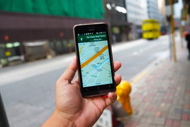 Using Google Maps