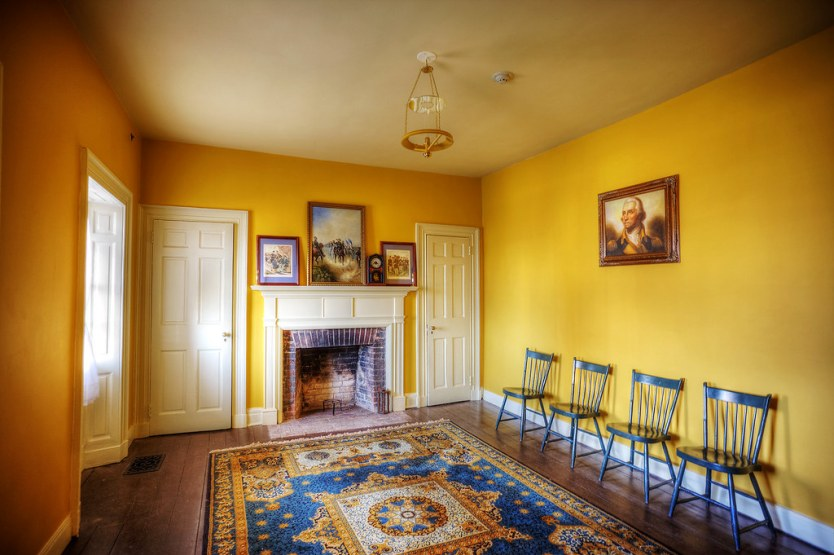 Living Room, Officers Quarters