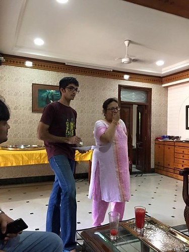 Munaf And Mrs Nafisa Kapadia As They Explain About Bohri Culture And Cuisine