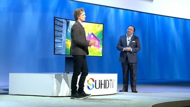CES 2015 Conferencia de prensa Samsung