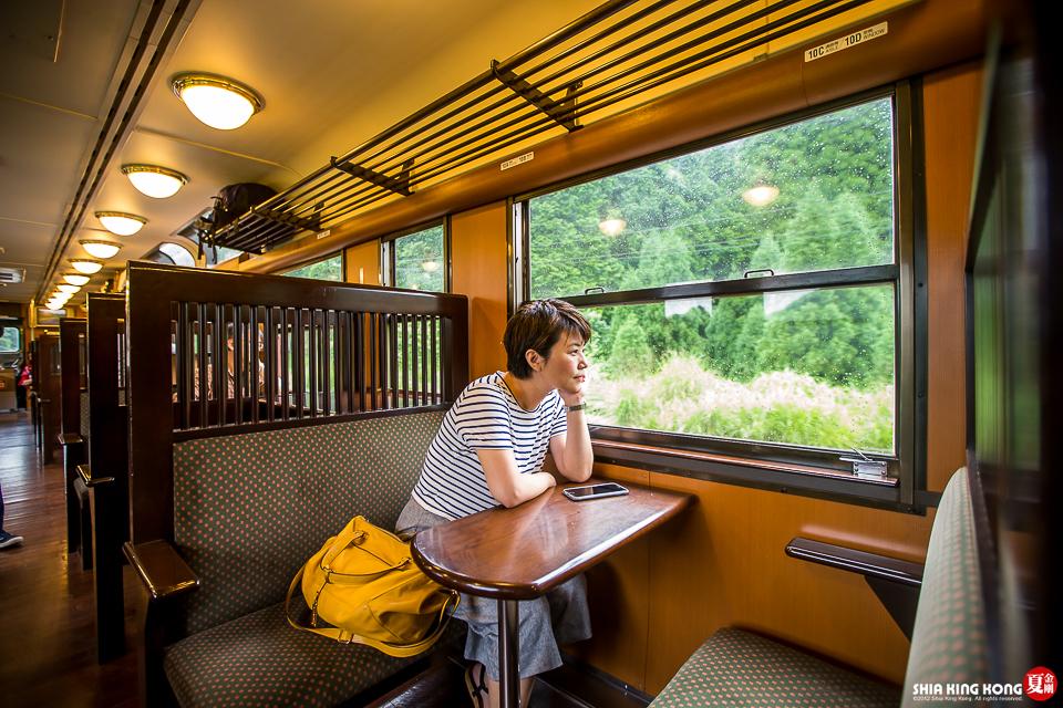日本九州鐵道體驗:隼人之風&伊三郎新平   夏金剛的奇幻之旅