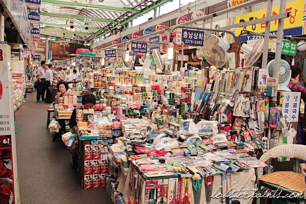 30 Sep 2014: Gwangjang Market 광장시장 | Seoul, South Korea