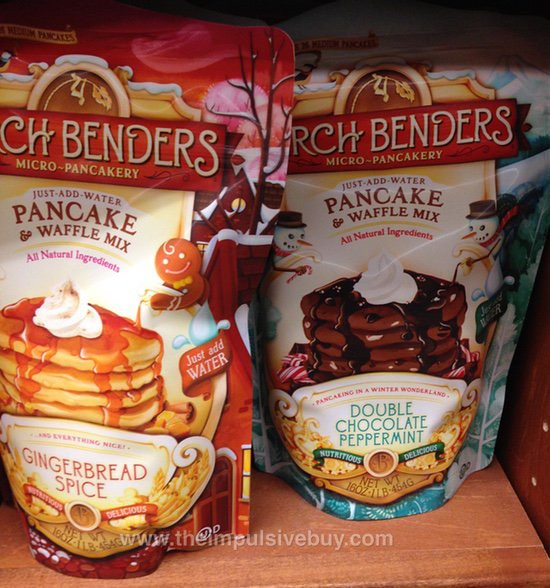 Birch Benders Micro-Pancakery Gingerbread Spice and Double Chocolate Peppermint Pancake Mix