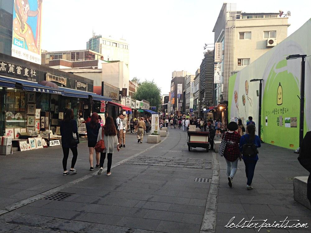 30 Sep 2014: Insadong 인사동   Seoul, South Korea
