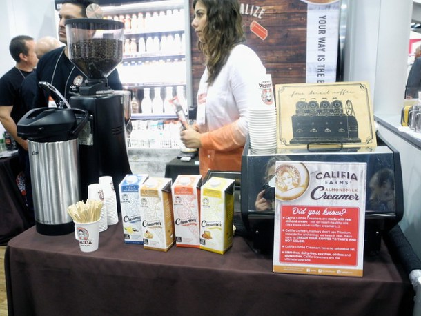 Winter Fancy Food Show Almond Milk Califia Farms