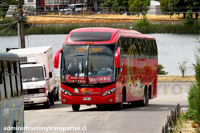 Queilen Bus (32) - Valdivia - Mascarello Roma 370 / Mercedes Benz (FRRR73)