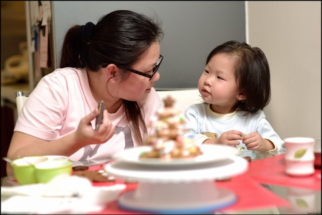 Parent-child cooking
