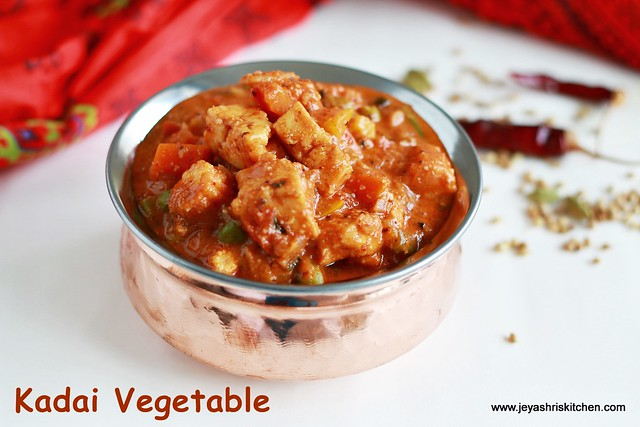 Kadai-vegetable gravy
