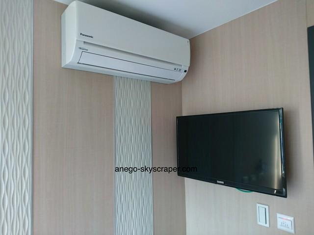 ポッシュパッカー エアコンとテレビ