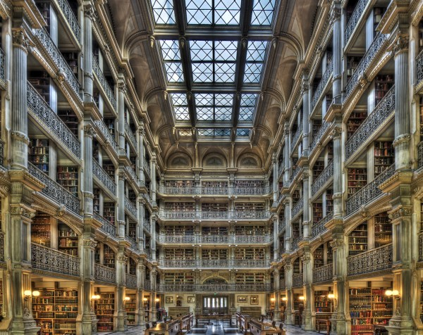 Peabody Library Baltimore