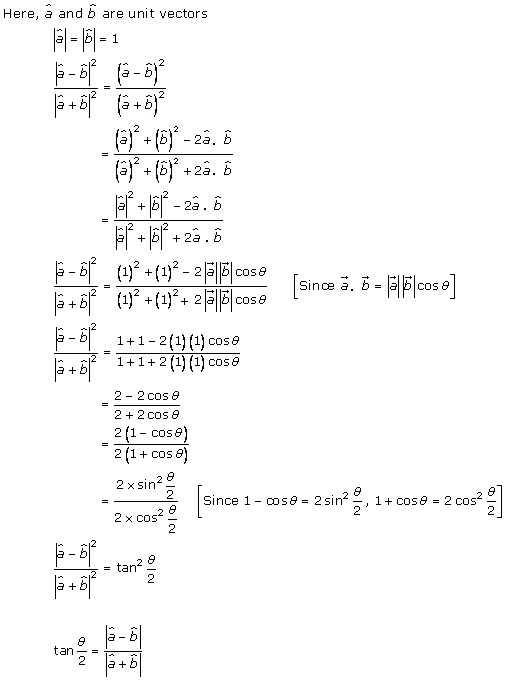 RD Sharma Class 12 Solutions Chapter 24 Scalar or Dot Product Ex 24.1 Q8-ii