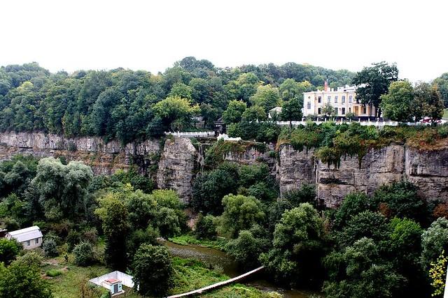 Castillo de Kamianets-Podilski