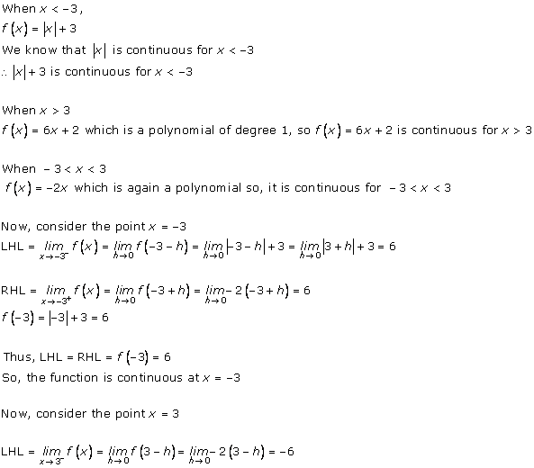 RD Sharma Class 12 Solutions Chapter 9 Continuity Ex 9.2 Q3-ix
