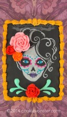 In celebration of Día de Muertos