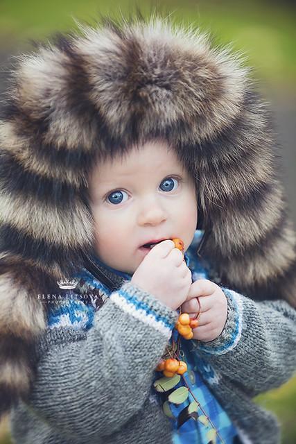 boy with blue eyes