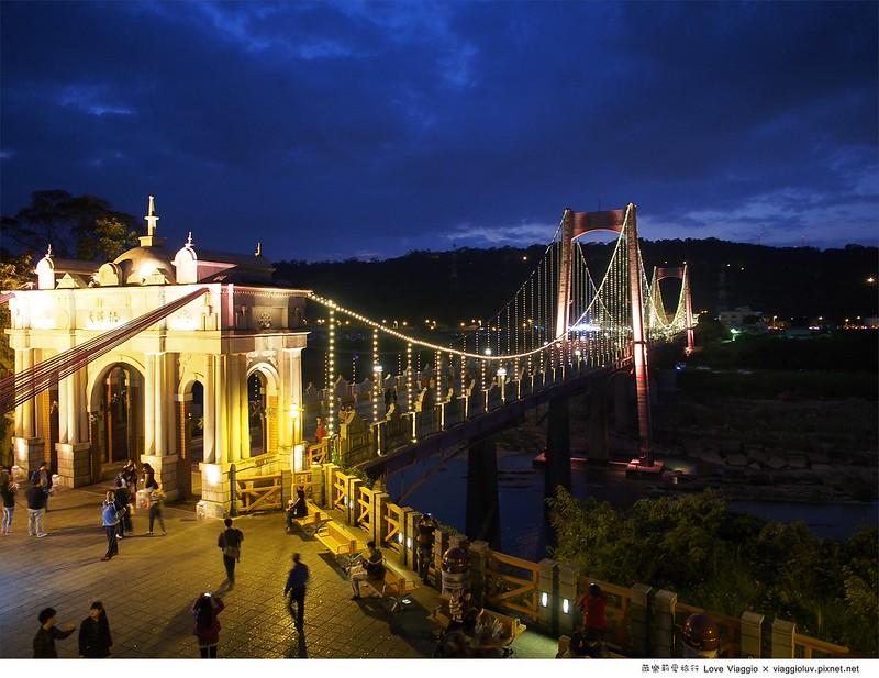 大溪橋夜景,大溪老街,桃園景點,老街 @薇樂莉 Love Viaggio   旅行.生活.攝影