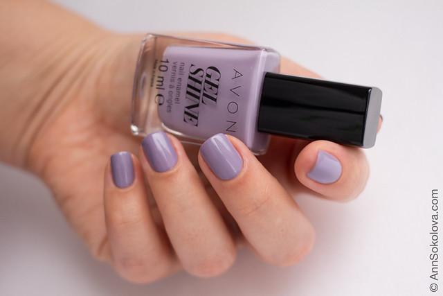 01 Avon 64780 Lavender Sky Лавандове Небо Ann Sokolova swatches