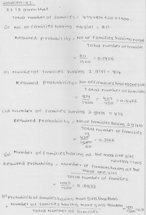 RD Sharma Class 9 Solutions Chapter 25 Probability 3