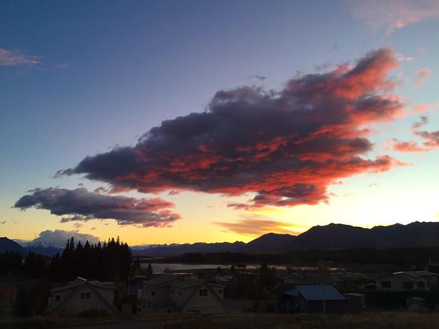 Sunrise in Tekapo