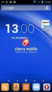 Home screen ของ Cherry Mobile Hero