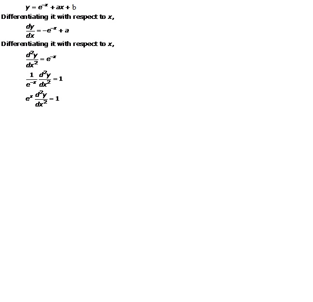 RD Sharma Class 12 Solutions Chapter 22 Differential Equations Ex 22.3 Q20