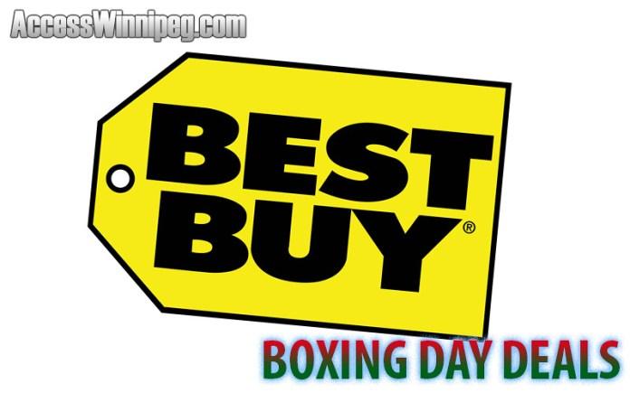 Best Buy Boxing Day Deals 2016