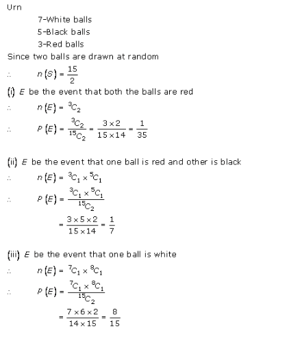 RD-Sharma-class-11 Solutions-Chapter-33-Probability-Ex-33.3-Q-42