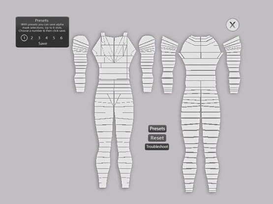 The Mesh Project Male Mesh Body Alpha HUD