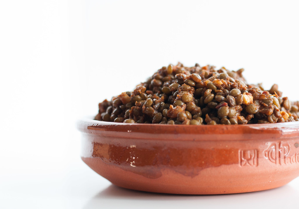 Taco spiced lentils | #meatless recipe at Natural Comfort Kitchen