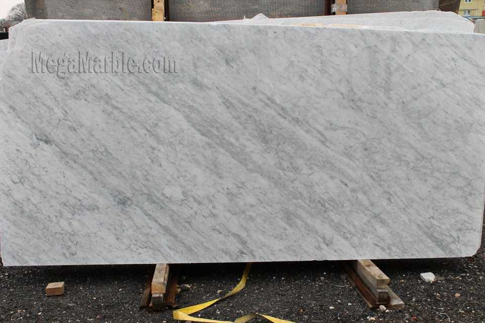White Carrara - Marble Slab Polished
