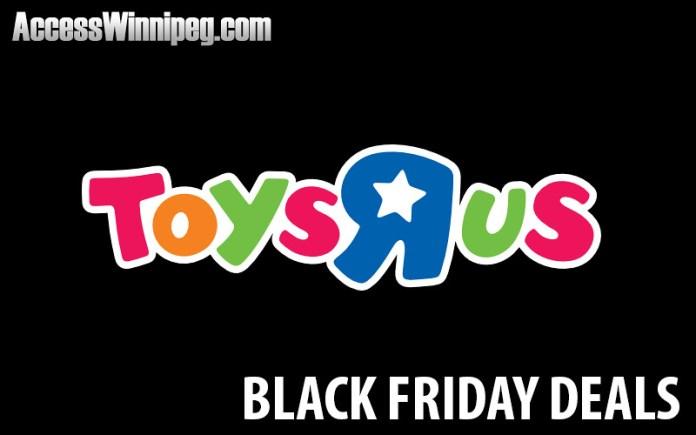 Toys R Us Canada Black Friday Deals 2017