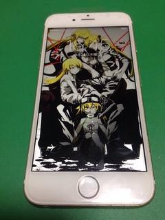111_iPhone6Sのフロントパネルガラス割れ