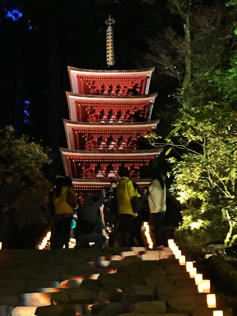 室生寺です。