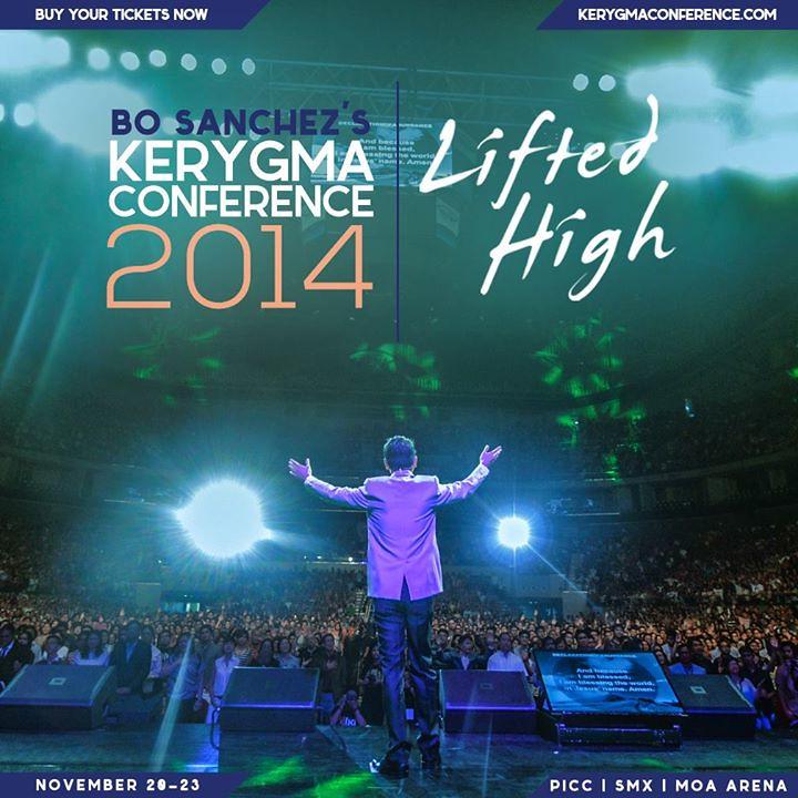 Fwd: Bo Sanchez's Kerygma Conference 2014
