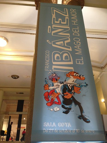 Ibañez, el mago del humor, Círculo de Bellas Artes. Madrid