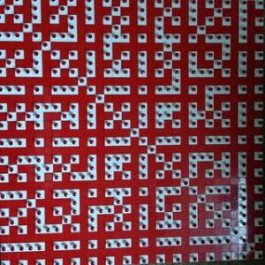 Mathematical mosaic 13 of 25
