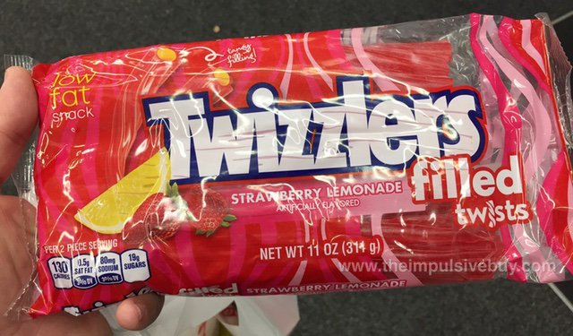 Twizzlers Strawberry Lemonade Filled Twists