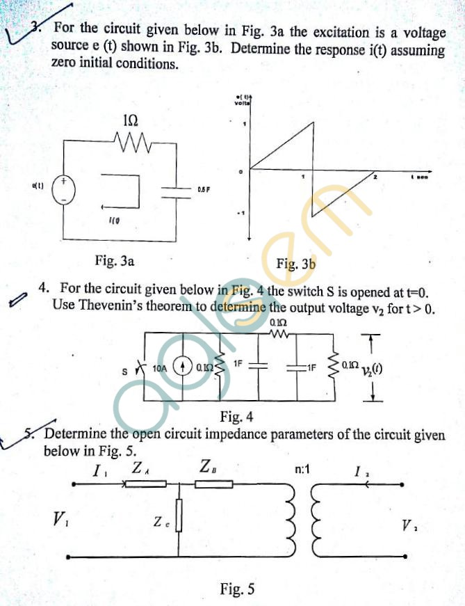 DTU: Question Papers 2013 – 3 Semester - End Sem - EL-EE-203
