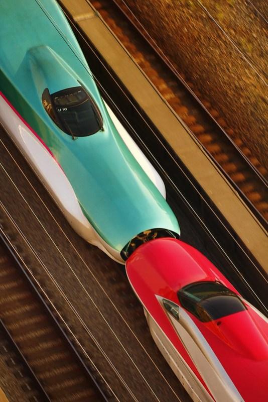 JR Tohoku Shinkansen Series E6 & E5