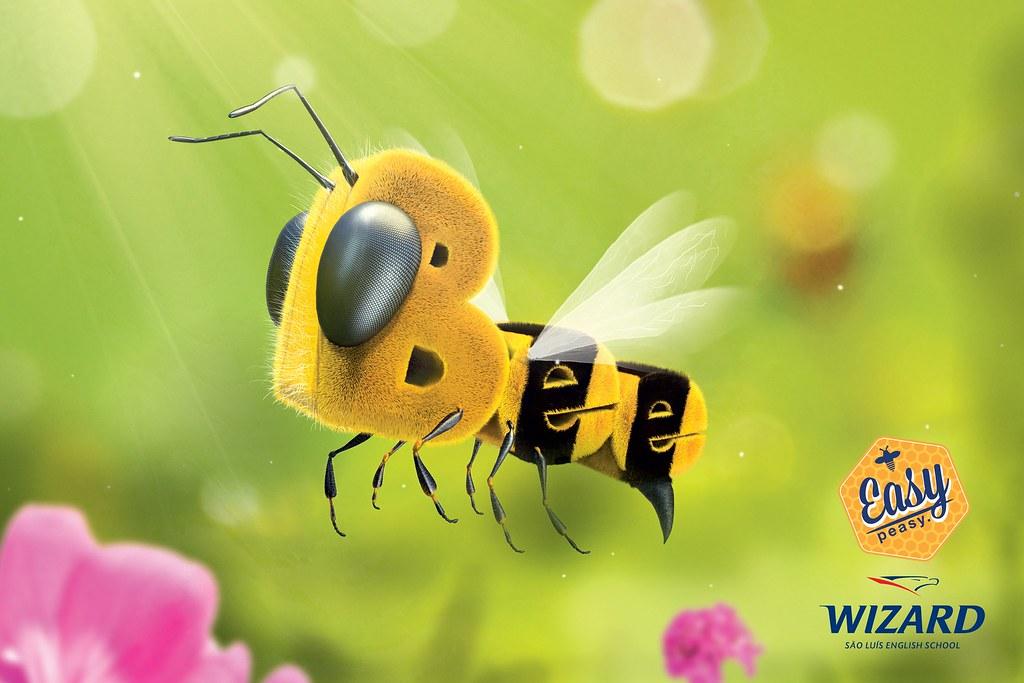 Wizard English School - Bee