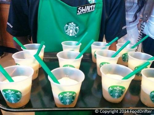 Coffee Shot Frappucinos